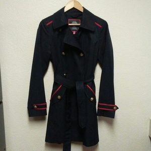 Vince Camuto navy coat size medium